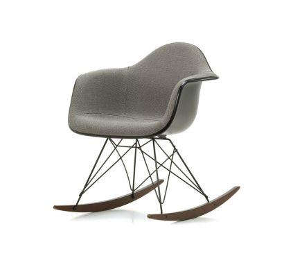 Eames Plastic Armchair RAR - Poltrona a Dondolo - Basalto