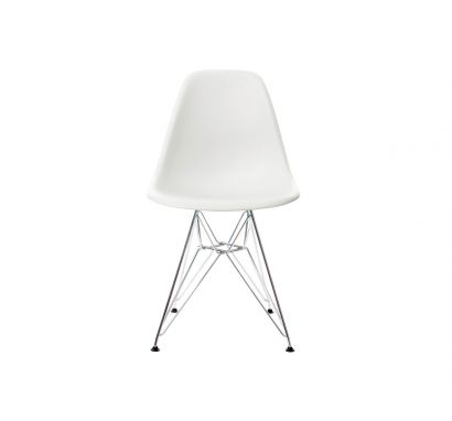 Eames Plastic Side Chair DSR Bianco