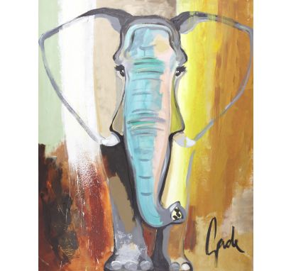 Elephant Colour 90x120