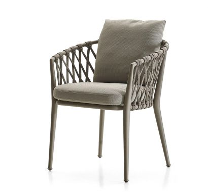 Erica Outdoor Chair with Armrest
