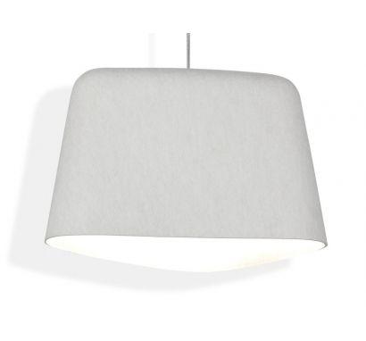 Felt Suspension Lamp White