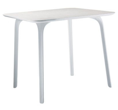 First Table White Square