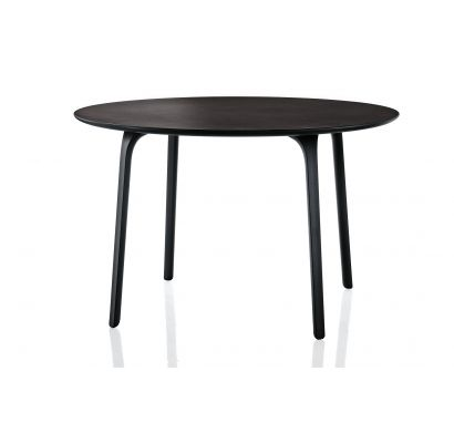 First Table Ø 79 Outdoor - Black