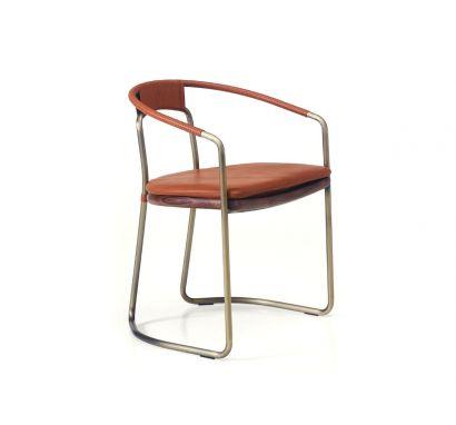 BassamFellows - Geometric Side Chair