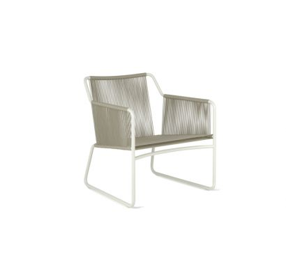 Harp 368 Lounge Chair milk