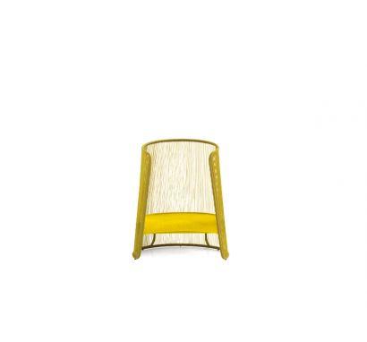 Moroso Husk M Armchair - Yellow