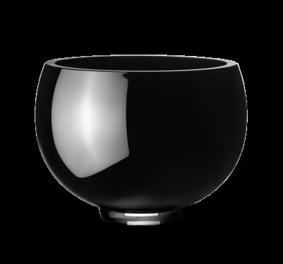 Ilse Bowl - Black Glass