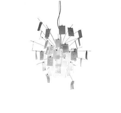 Zettel'z 6 Suspension Lamp Ingo Maurer
