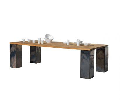 InOut 33 Table Teak Top