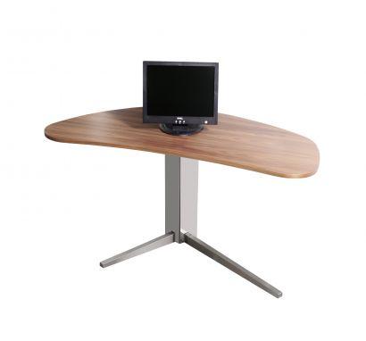 Island - desk top wood Canaletto Walnut