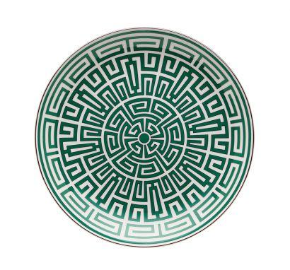 Labirinto Smeraldo Centerpiece Plate Ø 31 cm