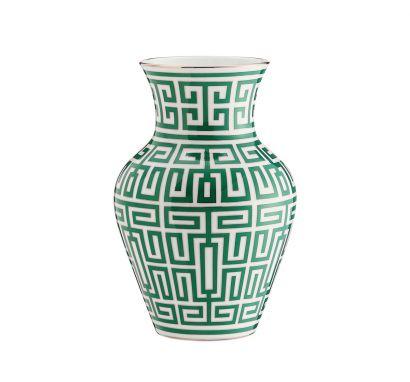Labirinto Smeraldo Ming Vase H. 25