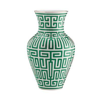 Labirinto Smeraldo Ming Vase H. 30