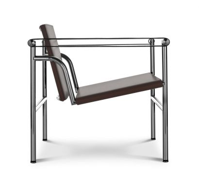 LC1 50° - Armchair Saddle Leather Talpa/Frame Chromed