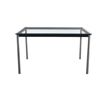 LC10-P Table H 70 - Black/Clear Glass