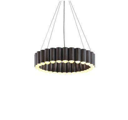 Carousel Gunmetal Suspension Lamp