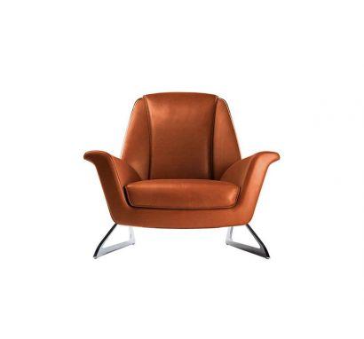 Luft Armchair - SC 75 Cognac
