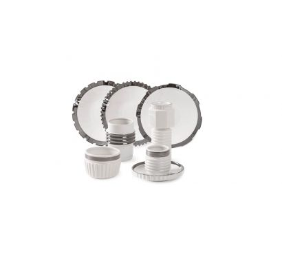 Machine Collection Silver Edge - Tableware Set