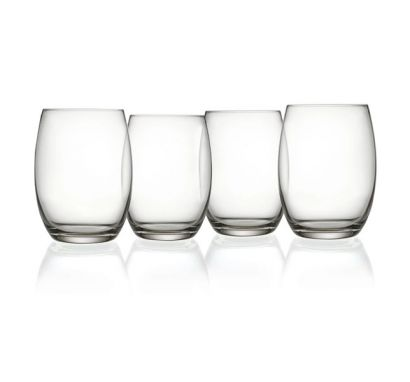 Mami XL Set 4 Bicchiere Long Drink - Ø 9,0 cm - H. 11 cm / Cl. 50