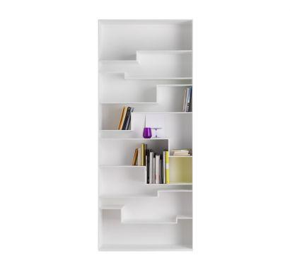 Melody Bookcase - White
