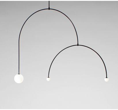 Mobile Chandelier 9 Lampada Da Soffitto