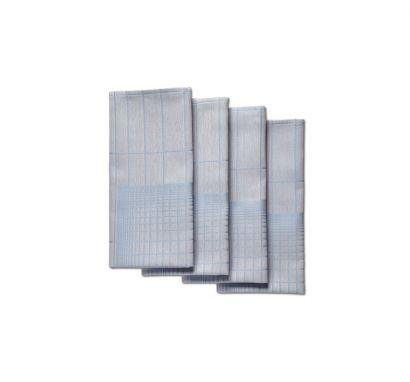 Napkin Double Grid set 4