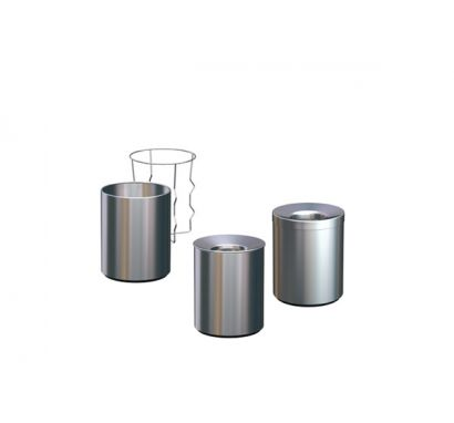 Nox trash bags and cover with support ring
