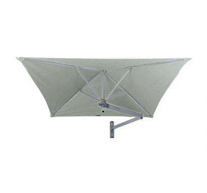 Paraflex Evolution Ombrellone da Parete Quadrato 300x300 Grigio
