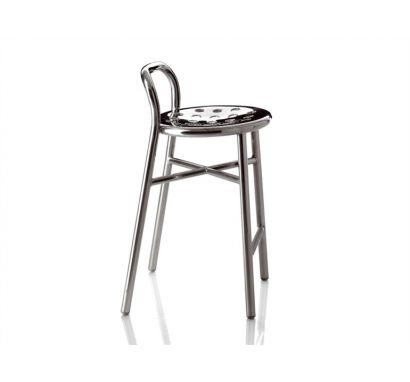 Pipe Aluminium High Stool