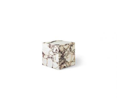 Plinth Cubic Coffee Table - Purple Calacatta Marble