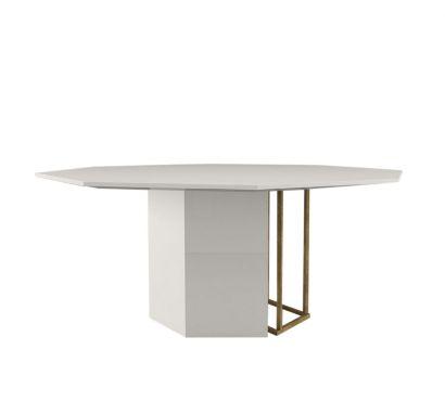 Plinto Tavolo Ottagonale ZK/2K Bronze/White