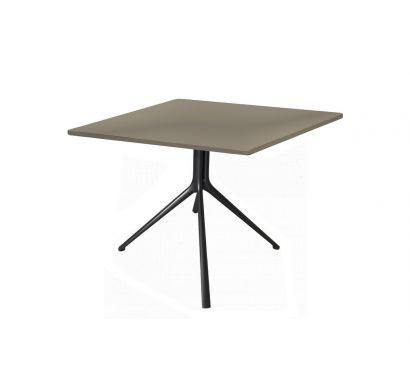 Mondrian Tavolino Quadrato - Brown Nickel Opaco/Laccato Lucido Corda 26
