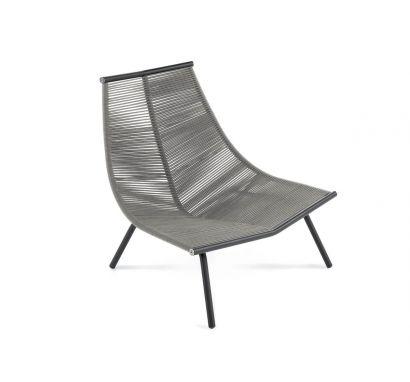 Roda - Laze 002 Outdoor Lounge Chair - High Backrest