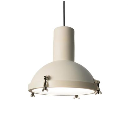 Projecteur 365 Suspension Lamp White Sand