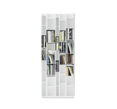 Random Bookcase - White