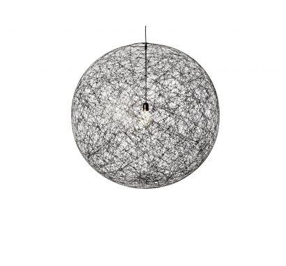 Random Light M Black Ø 80 - Suspension Lamp