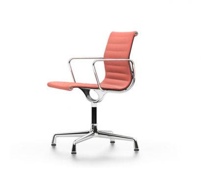 EA 104 - Swivel chair with armrests Red