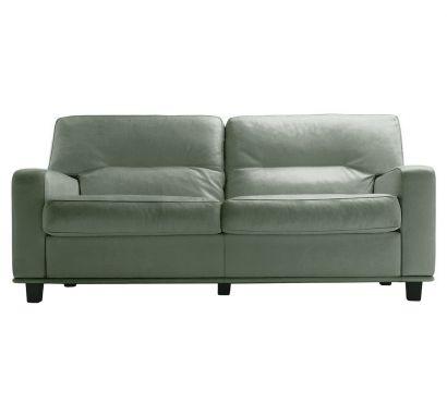 Salomè 2 Seater Sofa - Leather Nest Pomice