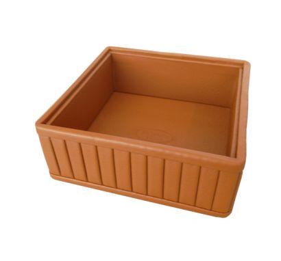 Small Tray Leather 68 Sahara