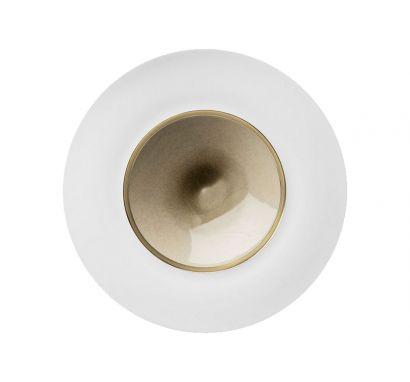 Silent Brass Platinum Pasta Plate