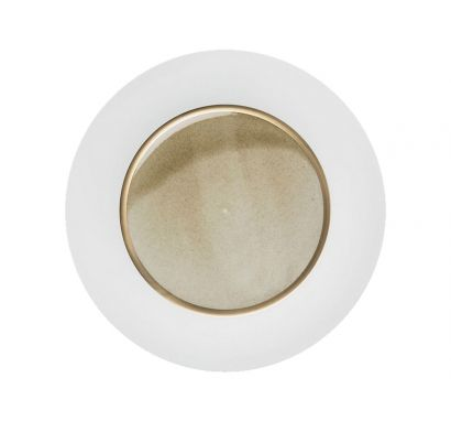 Silent Brass Gold Presentation Plate Charger