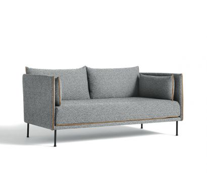 Silhouette 2 Seater Mono Sofa - Hallingdal 130 / Cognac
