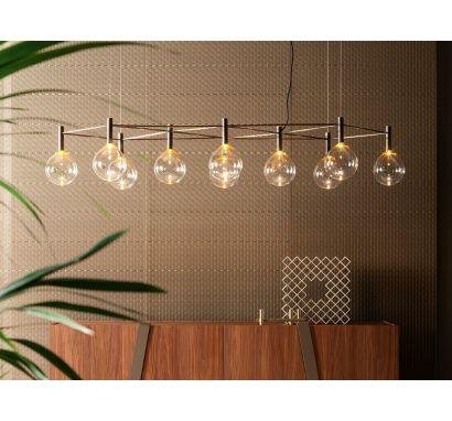 Sofì 10 With Structure Suspension Lamp