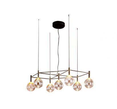 Sofì 7 With Structure Suspension Lamp
