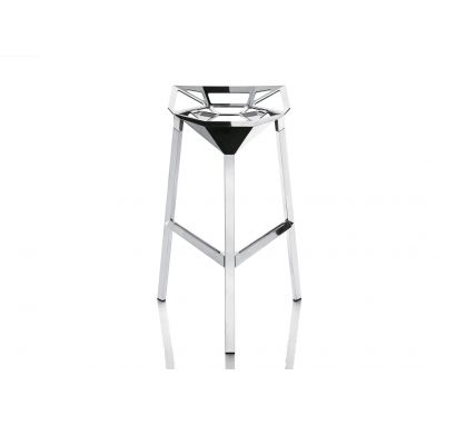 Stool One - Aluminium High