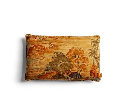 Decorative Cushions - Surawong Red/Gold