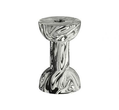 Swirl Dumbbell Candleholder