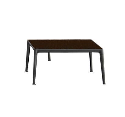 Mirto Tavolino - Piano in Vetro Bronzato