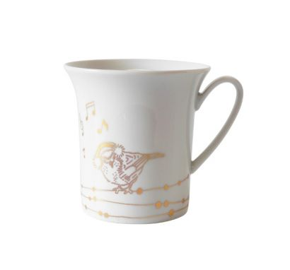New Gold Tazza Decorazione 3 - Birds