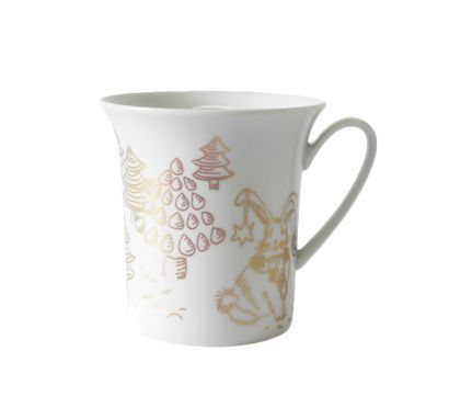 New Gold Tazza Decorazione 2 - Rabbit